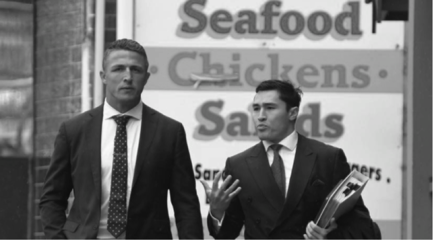Sam Burgess avoids conviction over traffic offences